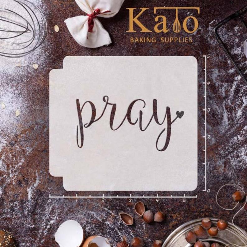 Pray 783-628 Stencil