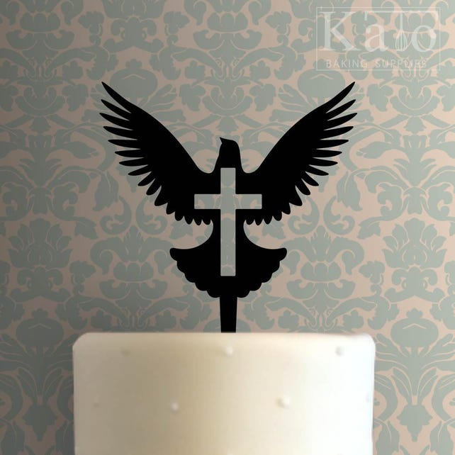 Cross 104 Cake Topper