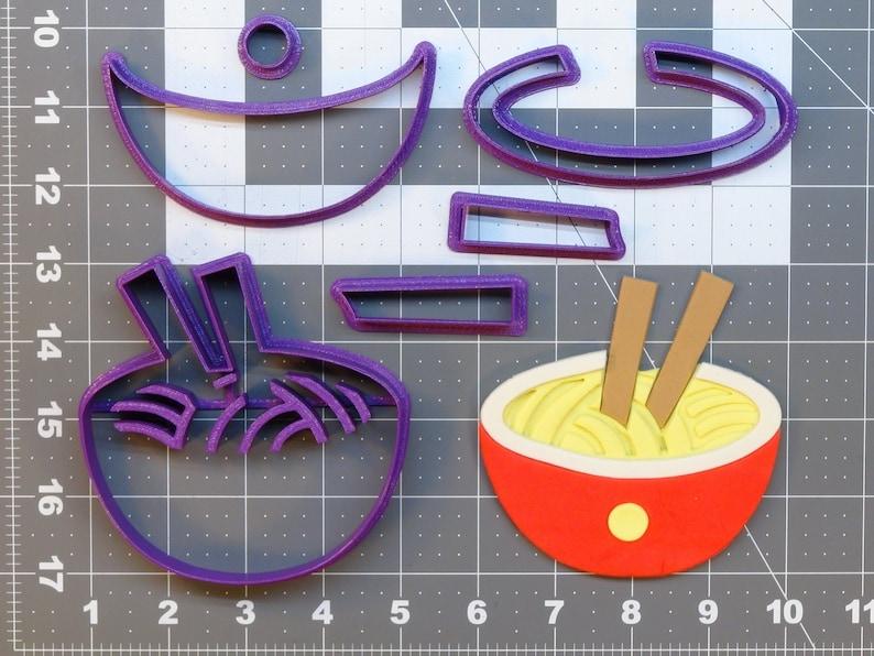 Ramen 266-A042 Cookie Cutter Set