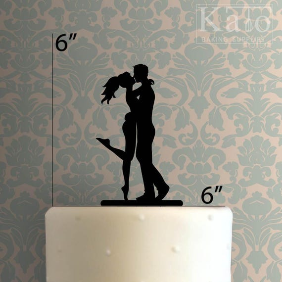 Woman And Man 100 Cake Topper