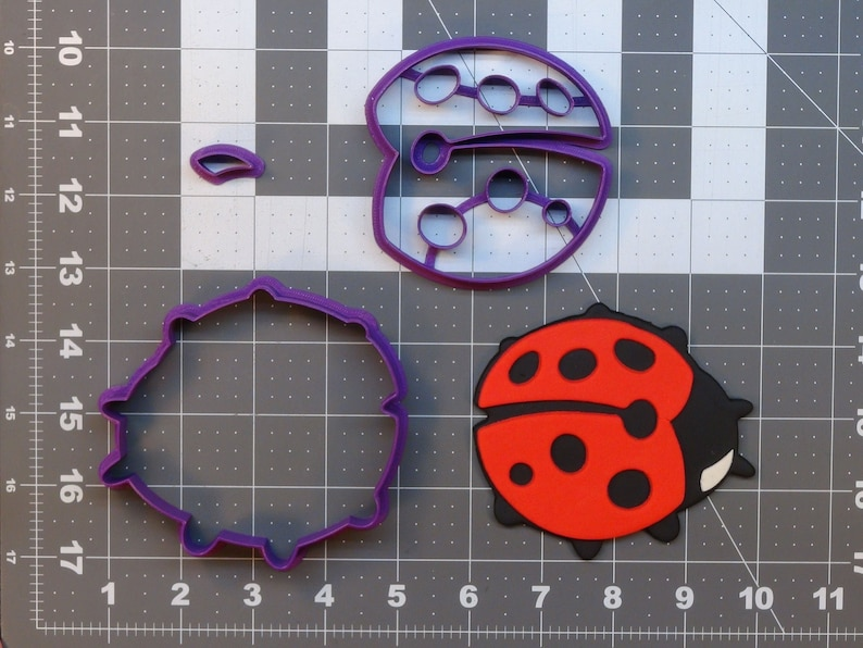 Lady Bug 266-A667 Cookie Cutter Set