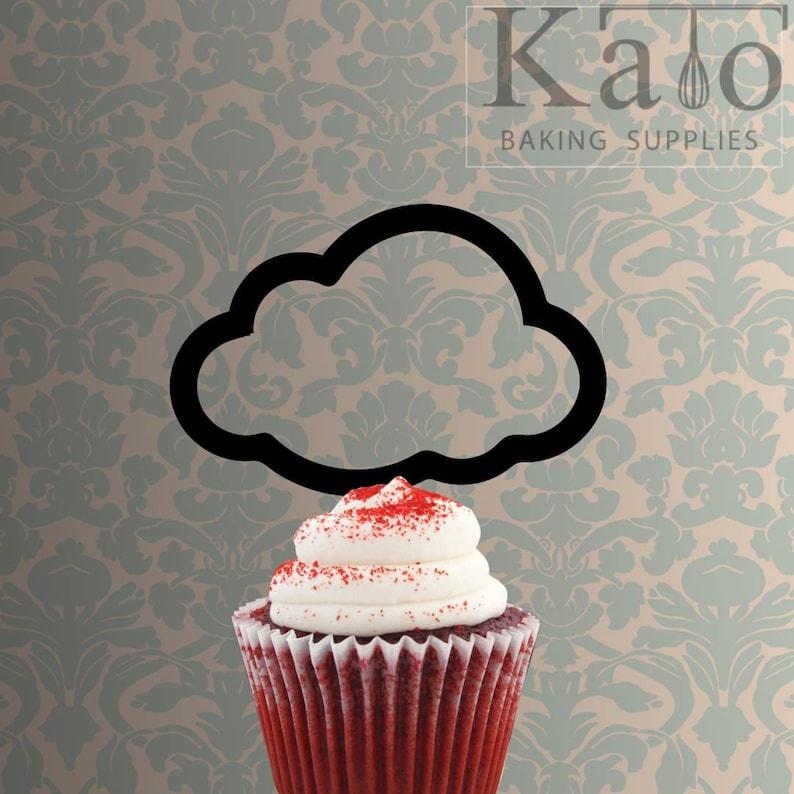 Cloud 228-201 Cupcake Topper