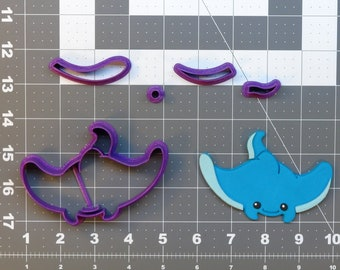 Cute Stingray 266-766 Cookie Cutter Set