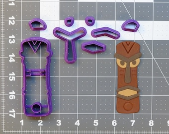 Tiki 266-531 Cookie Cutter Set
