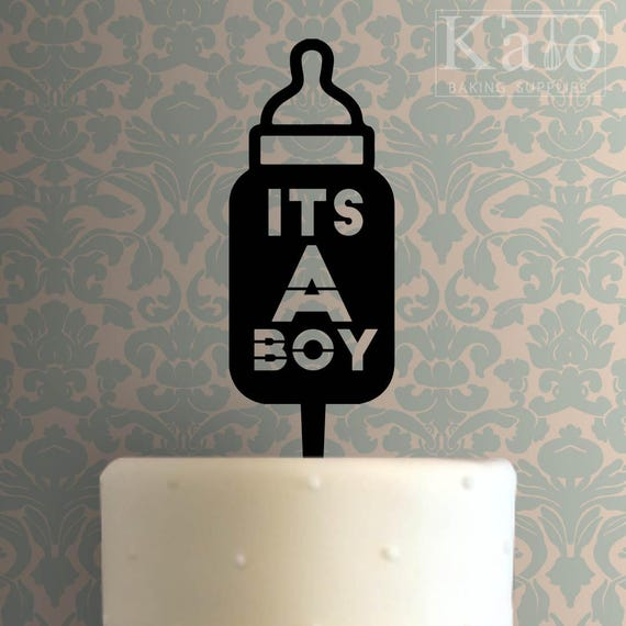 Its A Boy 104 Cake Topper