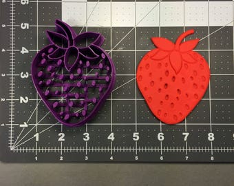 Strawberry 101 Cookie Cutter