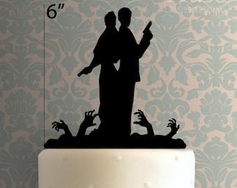 Wedding Couple 101 Cake Topper