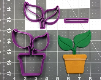 Plant 266-282 Cookie Cutter Set