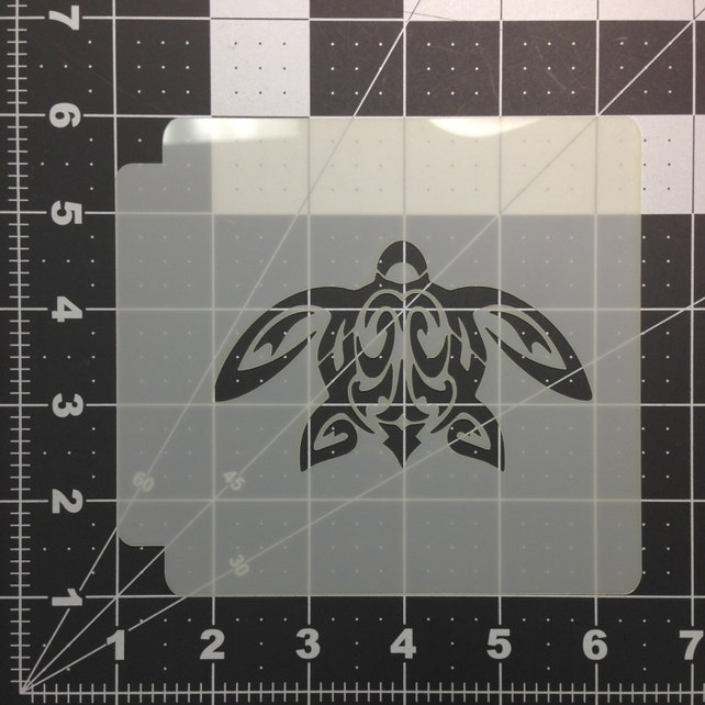 Turtle 102 Stencil