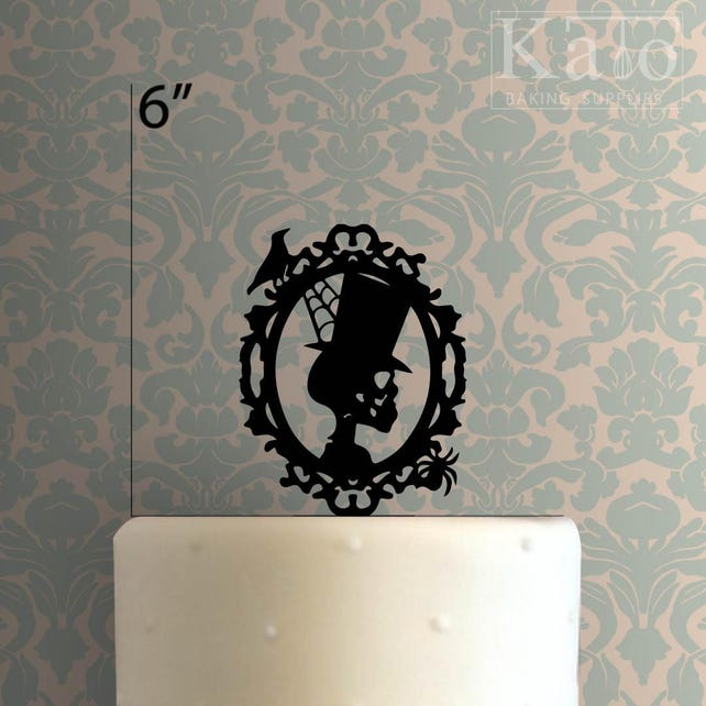 Skeleton Cameo 225-014 Cake Topper