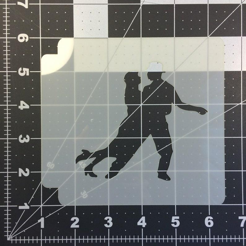 Dancing 100 Stencil