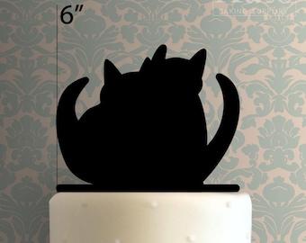 Kitten Couple 100 Cake Topper