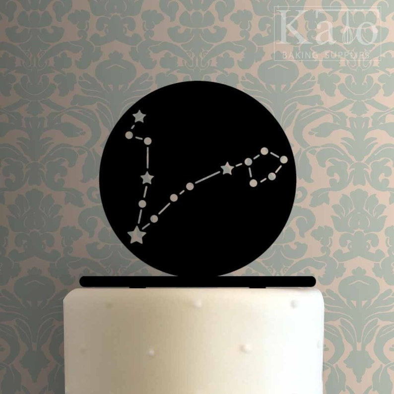 Pisces Constellation 225-811 Cake Topper