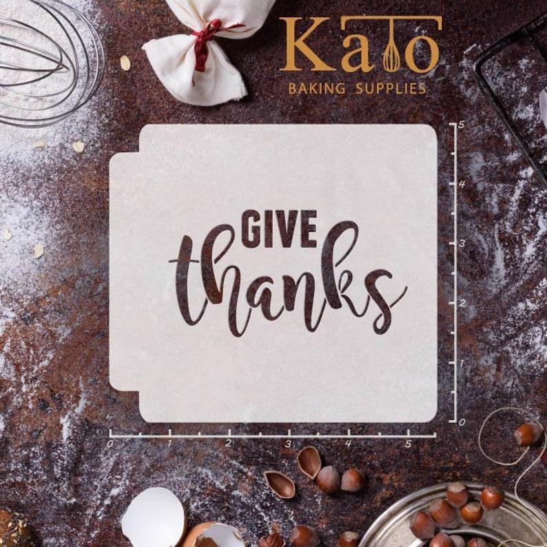 Give Thanks 783-A266 Stencil