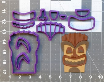 Tiki 266-532 Cookie Cutter Set