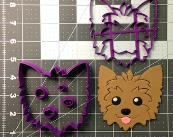 Yorkie Cookie Cutter Set