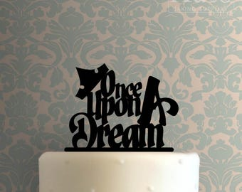 Once Upon A Dream 100 Cake Topper