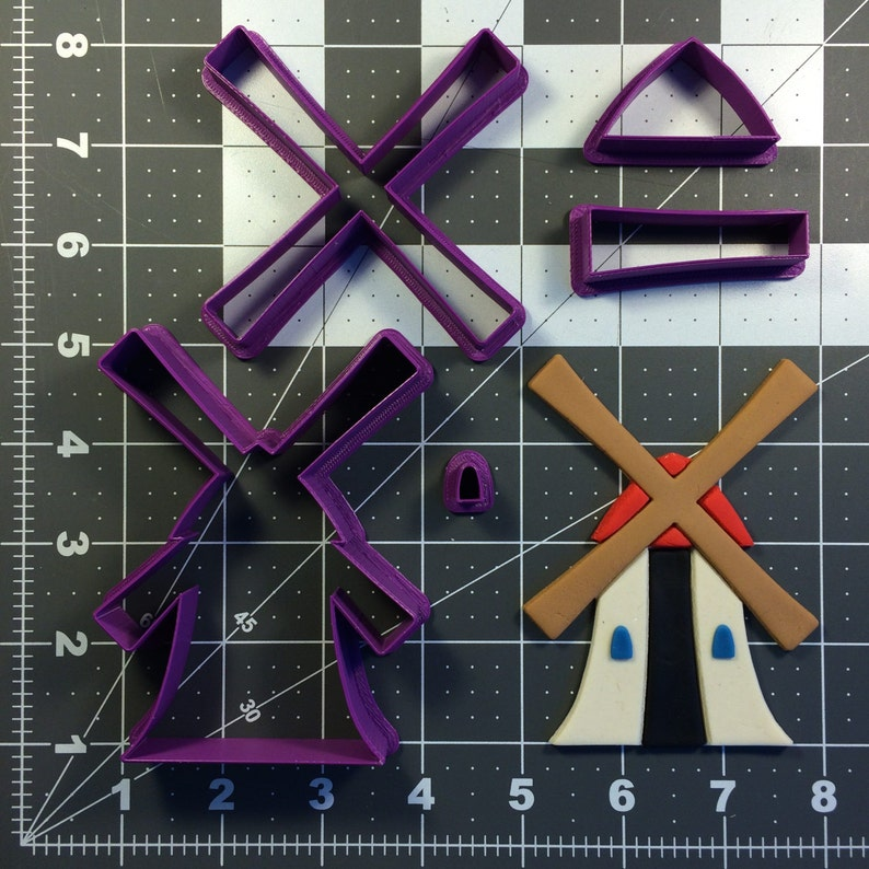 Windmill 101 Cookie Cutter Set