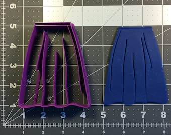 Skirt 101 Cookie Cutter Set
