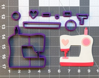 Sewing Machine 266-789 Cookie Cutter Set