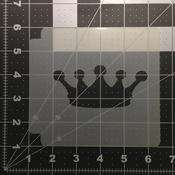 Princess Crown 100 Stencil