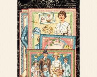 Graphic 45-Penny's Paper Dolls-Ephemera Journaling Cards