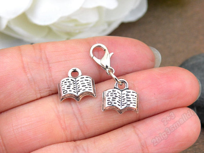 Charms for Bracelets and Necklaces Book Charm