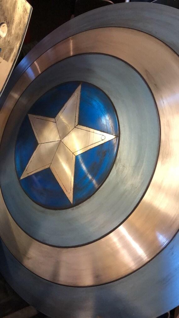 """1:1 scale 24"""" aluminum alloy """"STEALTH"""" shield replica prop"""