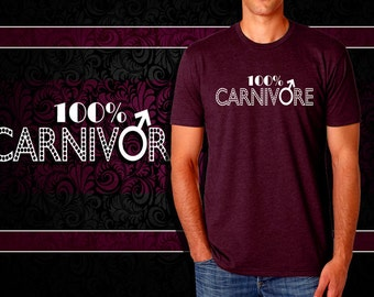 100% CARNIVORE - Graphic Tee