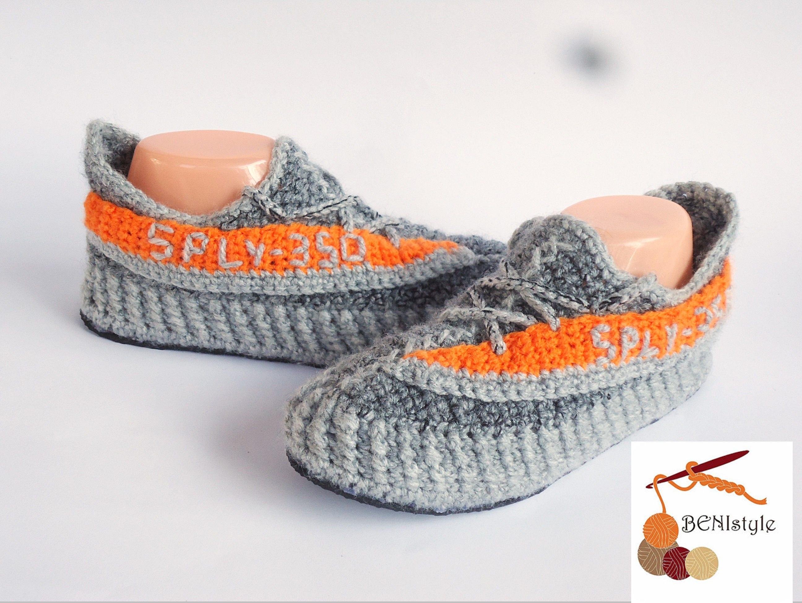 big sale 97c7c 20fd1 Adidas Yeezy Boost, Yeezy Sply 350, Crochet Yeezy Boost sply350, West  Adidas Yeezy Boost, Knitted Adidas YeezY Boost, Gray Orange sply 350