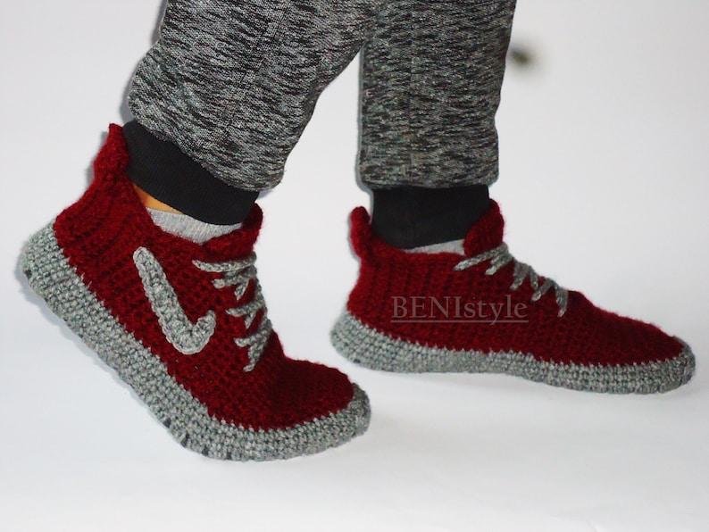 d0341d45b09 Size US 15 Shoes Big Shoes Crochet Shoes House Shoe Home