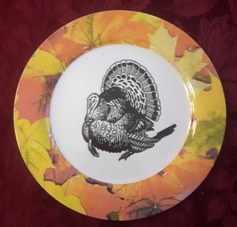 Animal Prints on Porcelain Dinner Plates - 10 5 food safe, dishwasher safe  and use-able