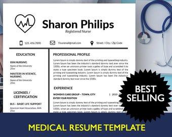 resume for nursing school