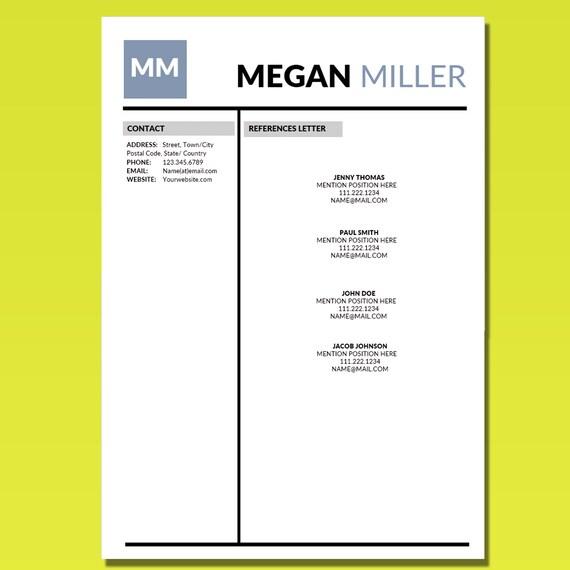 Student Resume Template, Internship Resume, CV Template + Cover Letter,  College CV Design, Graduation Modern Resume Templates, Simple Resume