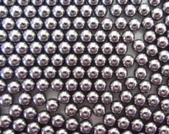 Steel Agitator Balls - Corrosion Resistant steel balls, nail varnish, frankenpolish, indie nail polish. 4mm diameter