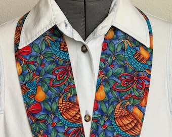 Holiday 5 - NeckTies to Accessorize - Christmas, Partridge in a Pear Tree