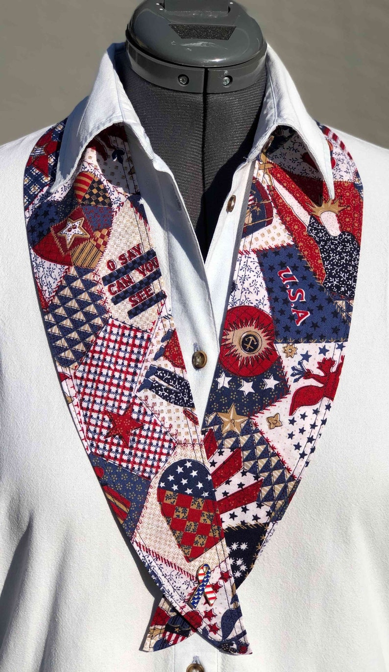 52c0f3fe12a Holiday 27A NeckTies to Accessorize Patriotic American