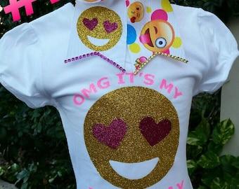 Emoji Birthday shirt,  emoji shirts, emojis tutus,emoji shirts, shirts