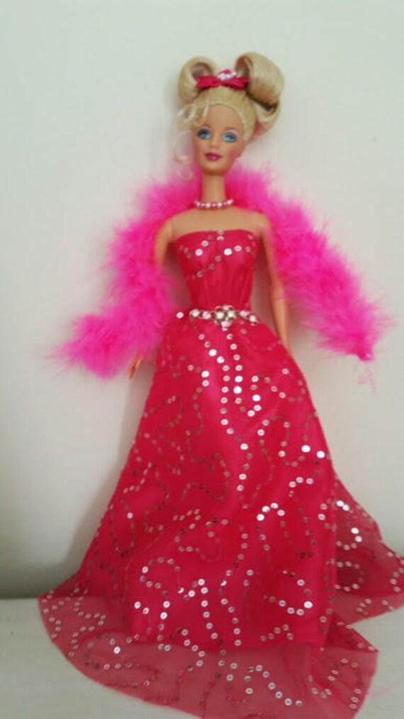 The Oscars Barbie Gown-Barbie-Barbie Gowns Barbie Dresses | Etsy