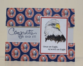 photo regarding Eagle Scout Congratulations Card Printable named Eagle scout card Etsy