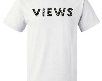 538fb94257b Drake Summer Sixteen Tour Official Views Logo Tee Ovo Shirt Eyes