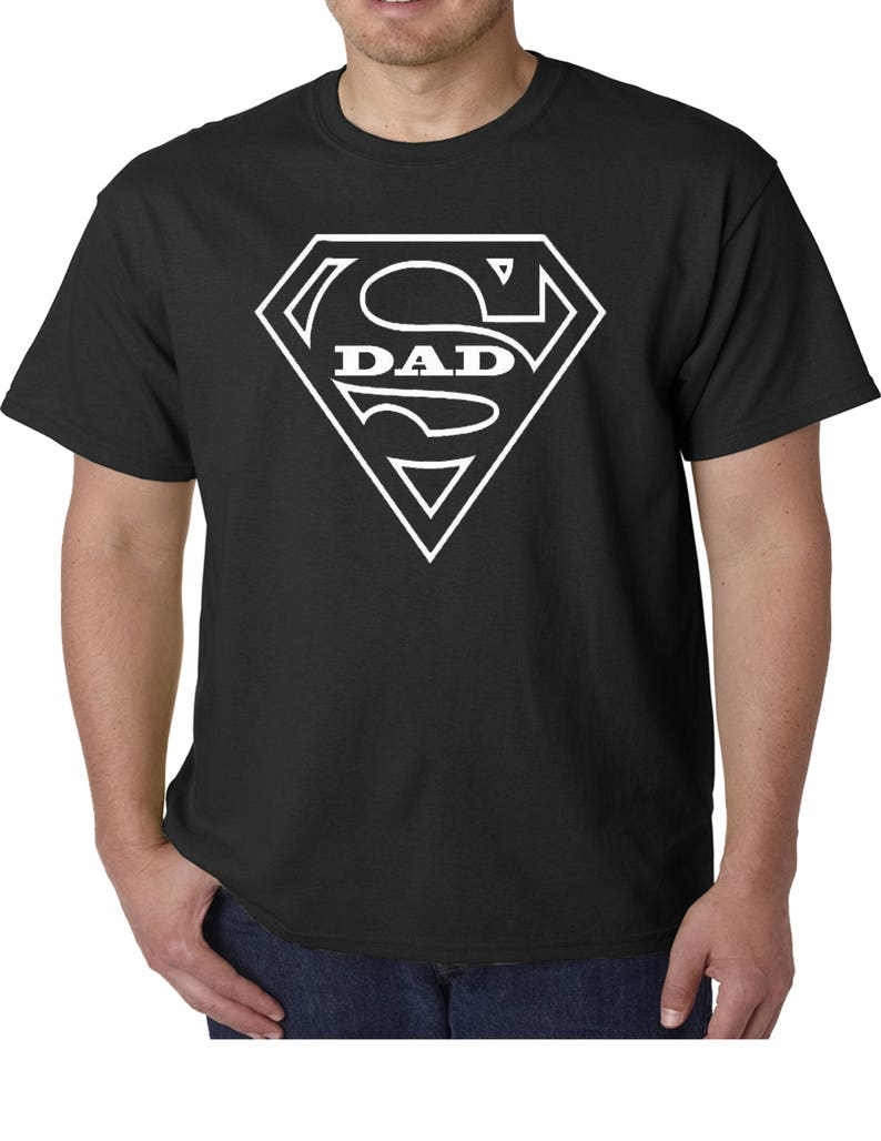 b4a448ed6 Super Dad Shirt Dad Gift for Father Gift for Dad T-Shirt | Etsy