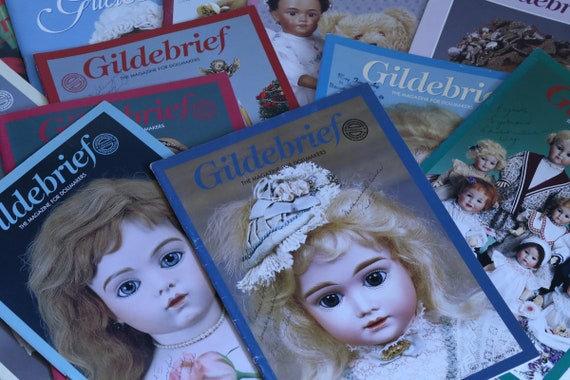 Vintage Gildebrief Magazine for Porcelain Dollmakers Select Issue to Purchase