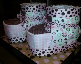 Bootie Diaper Cake