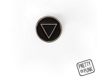 Alchemy Element Pin [WATER] Enamel Pin / Soft Enamel Pin / Lapel Pin / Punk Pin / Pin Badge / Occult Pin
