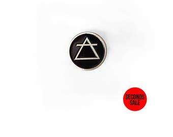 Alchemy Element Pin [AIR] Enamel Pin / Soft Enamel Pin / Lapel Pin / Punk Pin / Pin Badge / Seconds Enamel Pin / Occult Pin
