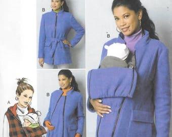 df103383fc3 Misses Maternity Coat or Vest, Sizes 16 Thru 24, New Butterick Pattern 6301