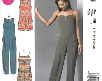 5abdb6a20d6 Misses Miss Petite Pleated Romper or Jumpsuit