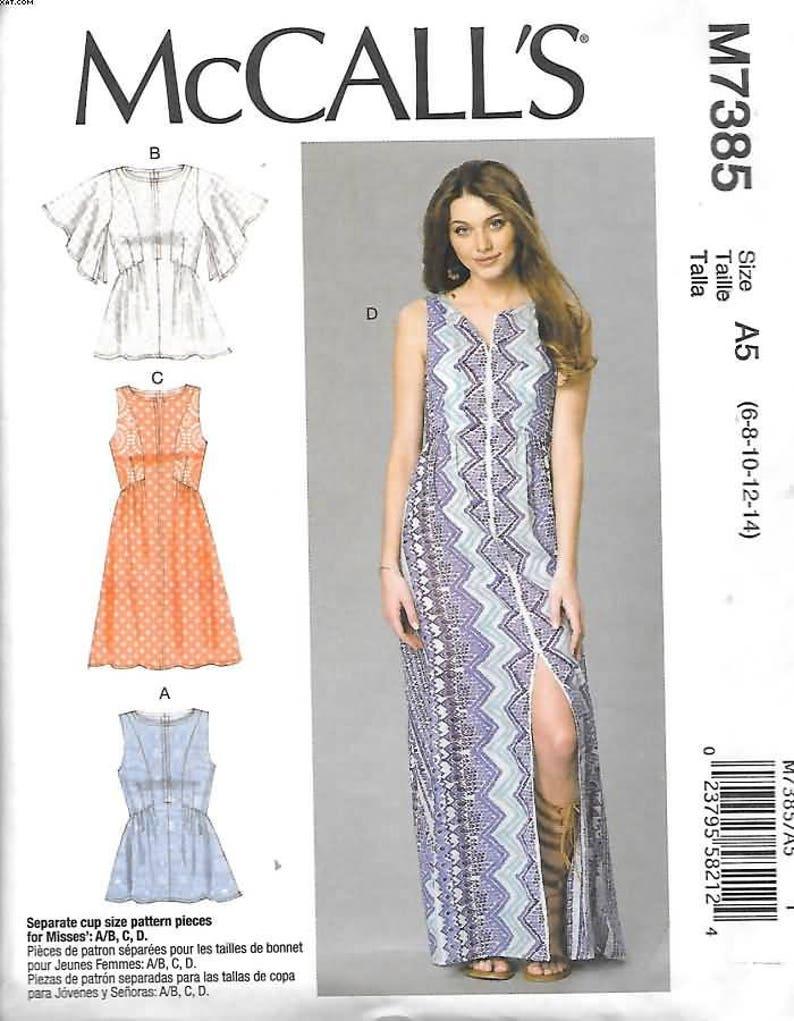 68c6fa67bb9 Misses Gathered Seam Detail Tops Dresses Sizes 6 Thru 14