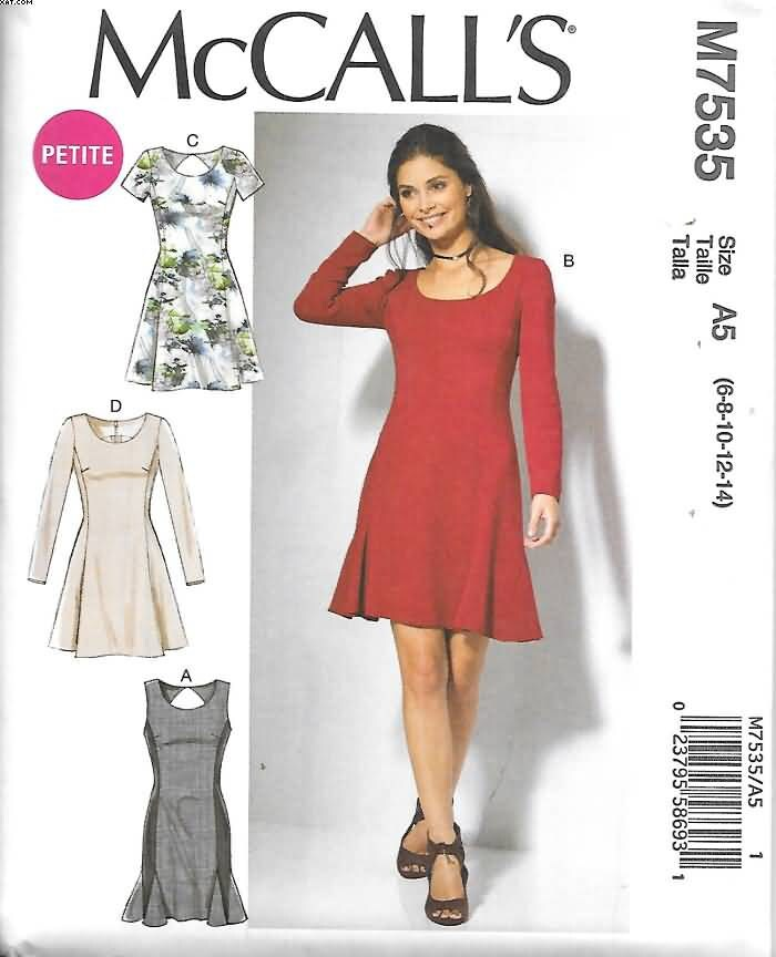 d42e32bd82 Misses Miss Petite Fit and Flare Dresses Sizes 14 Thru 22